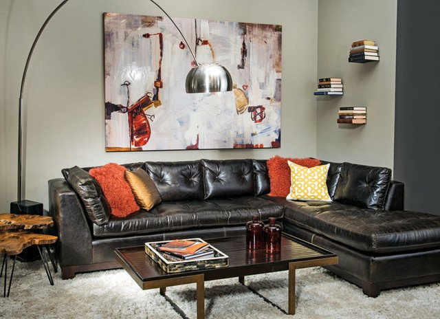 Urban Contemporary Living Room Urban Inspiration Contemporary Living Room by High