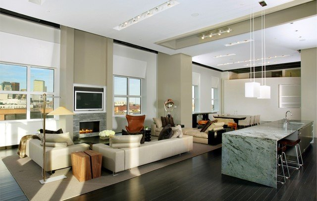 Urban Contemporary Living Room Urban Living Xxl Contemporary Living Room Boston