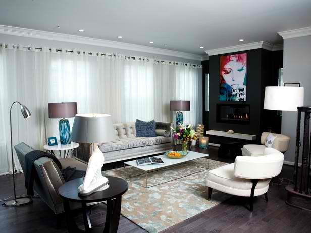 Urban Contemporary Living Room Urban sophisticated Living Room Designs Decoholic