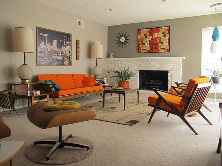 Vintage Contemporary Living Room 41 Modern Retro Living Room Hot Home Design Trends that