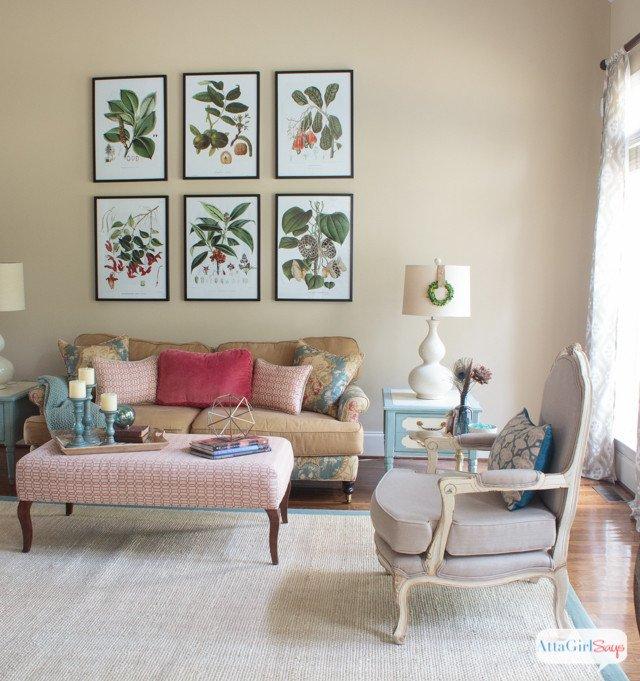 Vintage Contemporary Living Room Vintage Meets Modern Living Room Decorating Ideas