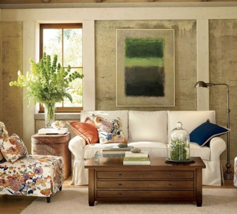 Vintage Living Room Decorating Ideas Blend Classic and Retro Style In Vintage Living Room