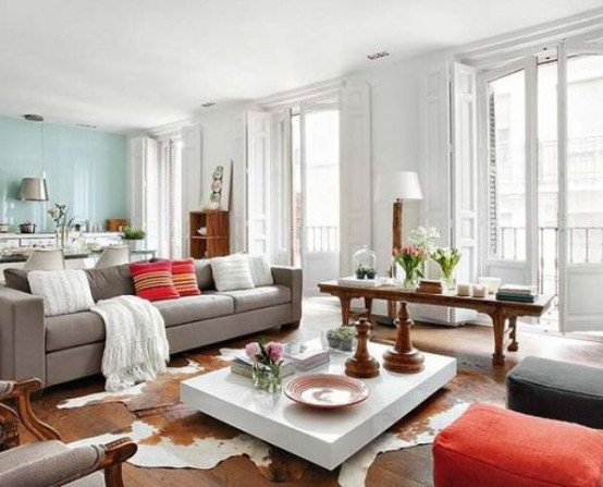 Vintage Modern Living Room Decorating Ideas 30 Grey and Coral Home Décor Ideas Digsdigs