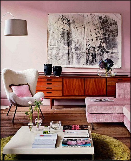 Vintage Modern Living Room Decorating Ideas Interior Design Trends 2017 Retro Living Room