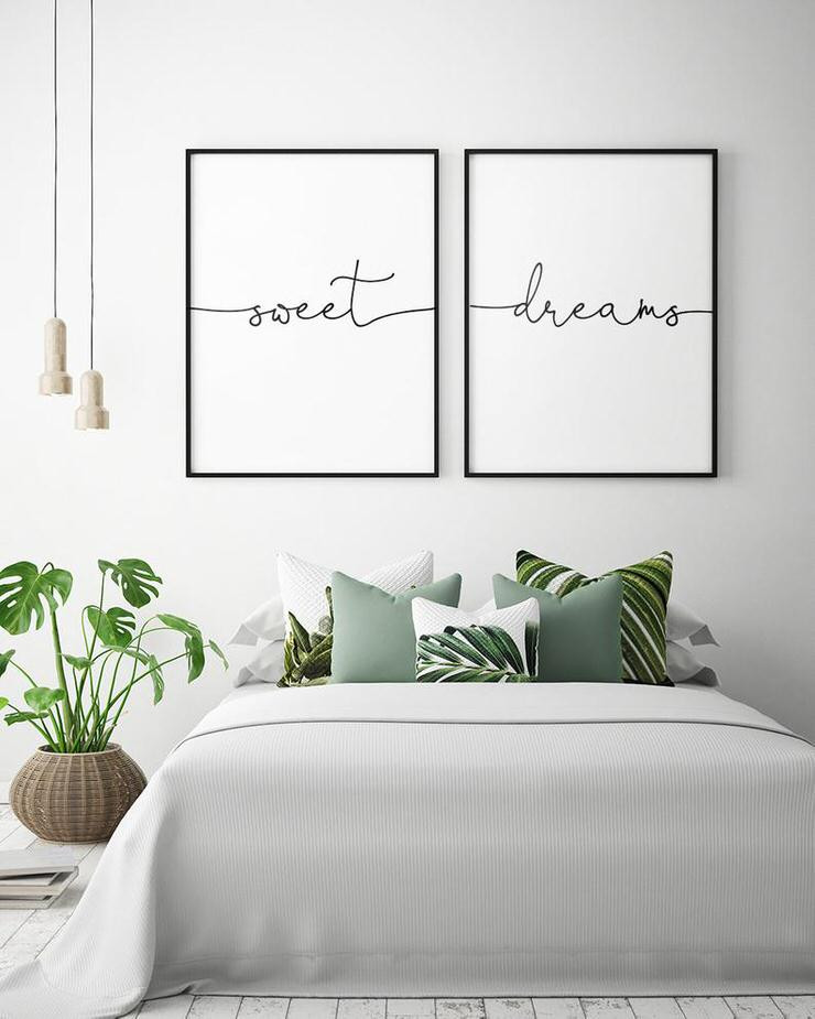 Wall Art Ideas for Bedroom Charming but Cheap Bedroom Decorating Ideas • the Bud