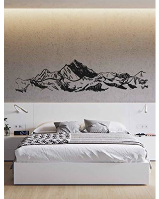 Wall Decals for Bedroom Amazing Deal On Mountain Wall Decal Art Mountain Wall Decals
