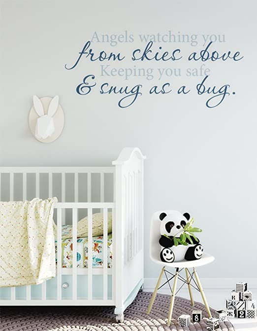 Wall Decals for Bedroom Amazon Susie85electra Nursery Wall Decal Angel Wall
