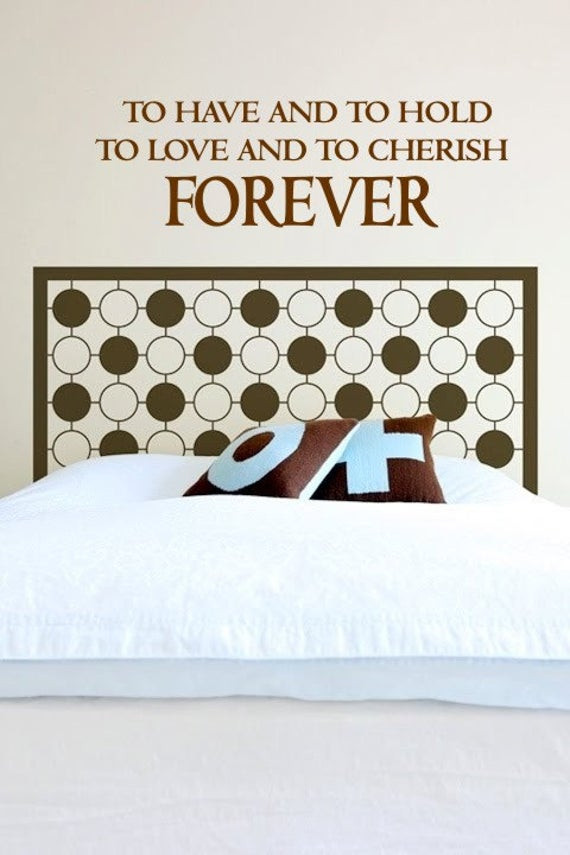 Wall Decals for Bedroom Bedroom Wall Decal forever Wall Decal Marriage Wall Decal Home Quote Decal