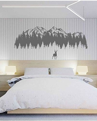 Wall Decals for Bedroom Great Sales On Mountain Wall Decal Art Deer Wall Decals for