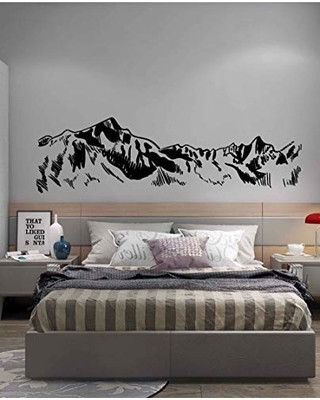 Wall Decals for Bedroom Mountain Wall Decal Art Mountain Wall Decals for Bedroom Mountain Wall Decoration Mountain Wall Stickers for Nursery Ik3426 From Amazon