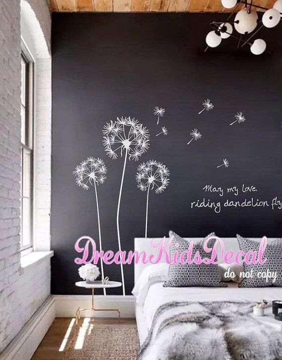 Wall Decals for Bedroom Nursery Wall Decal Vinyl Wall Decals Flower Wall Sticker