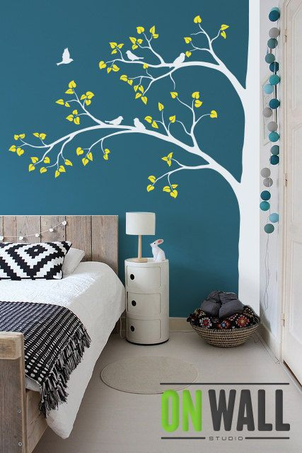 Wall Decals for Bedroom Wall Decal Tree Wall Decal Living Room Wall Decals