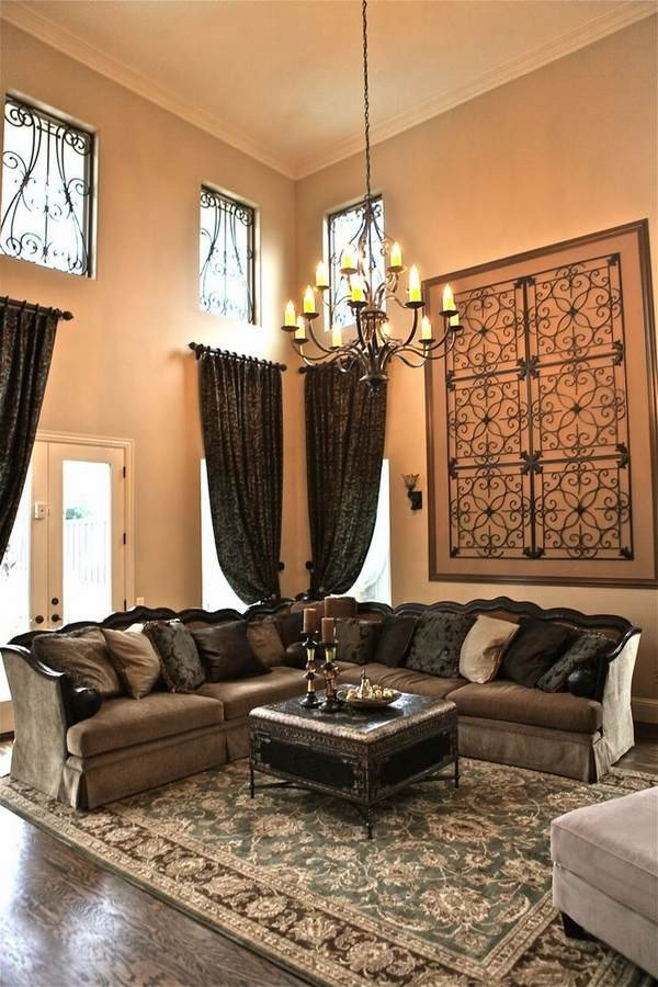 Wall Decor Ideas Living Room Wrought Iron Wall Decor Adds Elegance to Your Home
