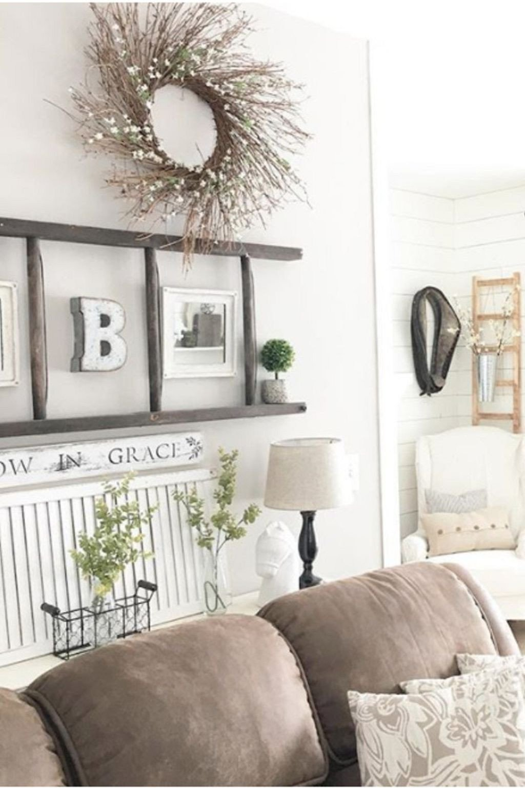Wall Decor Living Room Ideas 15 Diy Farmhouse Living Room Wall Decor and Design