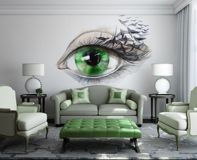 Wall Decor Living Room Ideas 15 Refreshing Wall Mural Ideas for Your Living Room