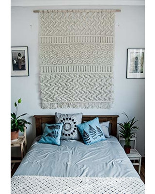 Wall Hangings for Bedroom Feather From the forest Bedroom Decor Macrame Wall Hangings Wall Decorations for Bedroom Living Room Decorations Above Bed Wall Decor by the
