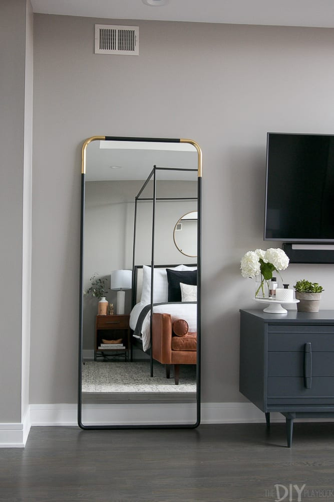 Wall Mirror for Bedroom How to Secure A Leaning Mirror to the Wall