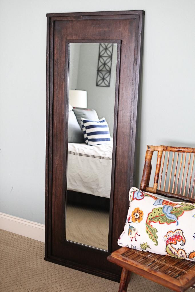 Wall Mirror for Bedroom Leaning Floor Mirror Diy