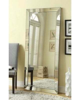 Wall Mirror for Bedroom Light In the Dark Full Length Wall Mirror with 3 Inch Beveled Edge – Frameless Rectangular Glass Panel – for Dressing Room Hallway Bedroom