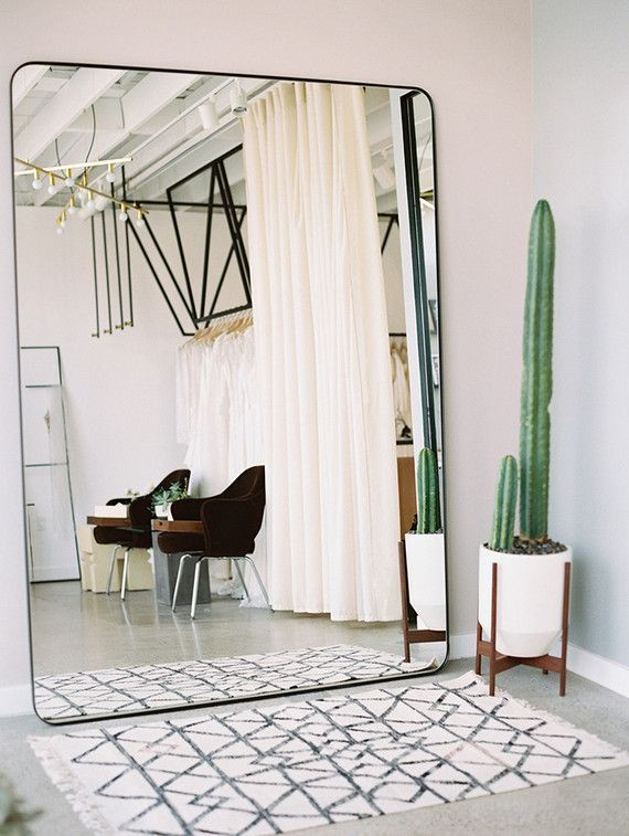 Wall Mirror for Bedroom Oversized Wall Mirror Cute Cactus and A Moroccan Rug
