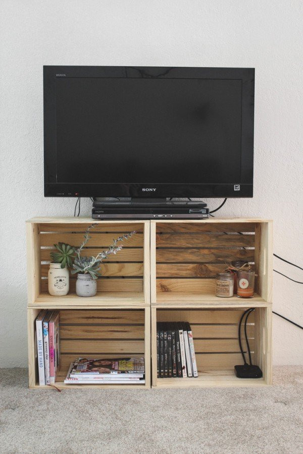 Wall Mounted Tv Ideas Bedroom 21 Diy Tv Stand Ideas for Your Weekend Home Project