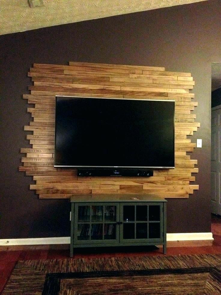 Wall Mounted Tv Ideas Bedroom Home Architec Ideas Bedroom Led Wooden Wall Design