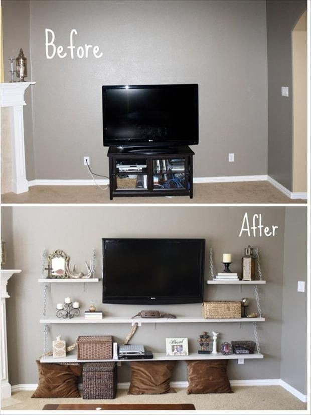 Wall Mounted Tv Ideas Bedroom Storage solutions for Small Bedrooms