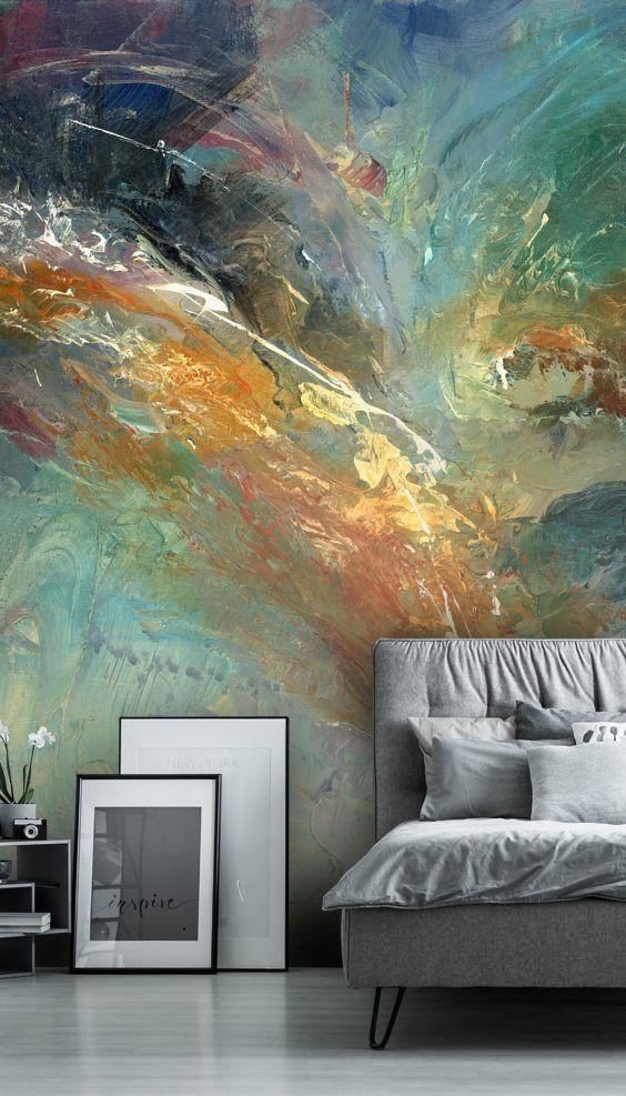 Wall Murals for Bedroom Intangable