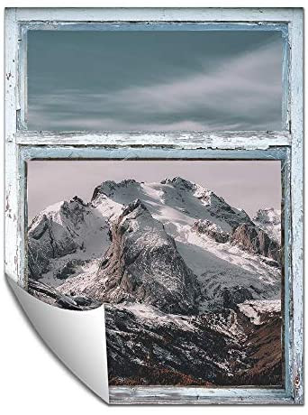 Wall Murals for Bedroom Wall Paper Small Wall Mural Snowscape Out Of the Window Removable Wall for Bedroom Living Room