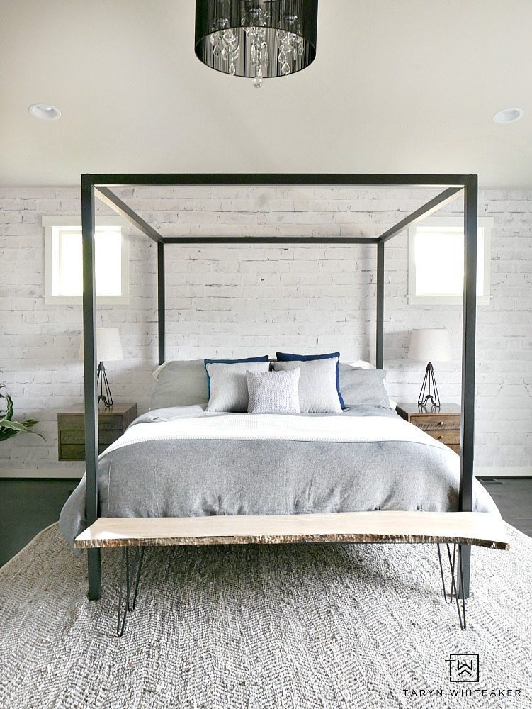 Wall Murals for Bedroom White Washed Brick Wall Mural