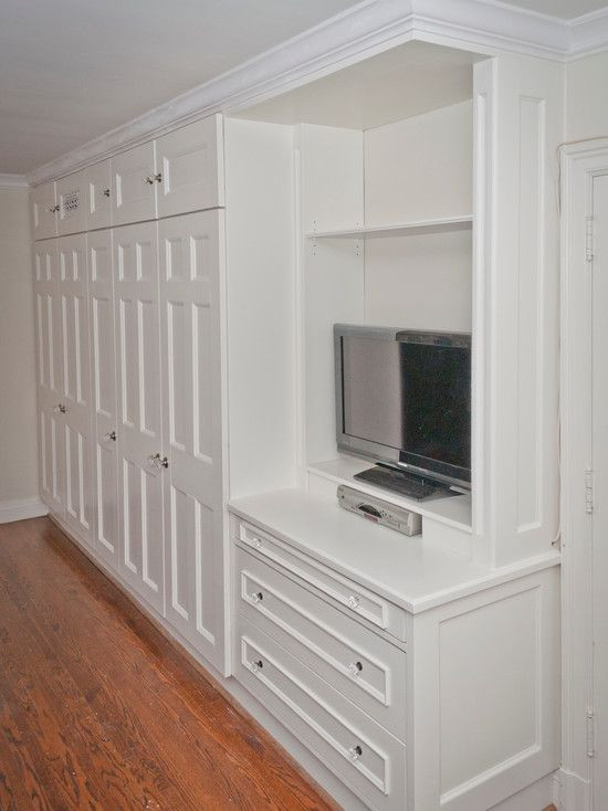 Wall Units Bedroom Furniture Built In Bedroom Closet and Entertainment Unit