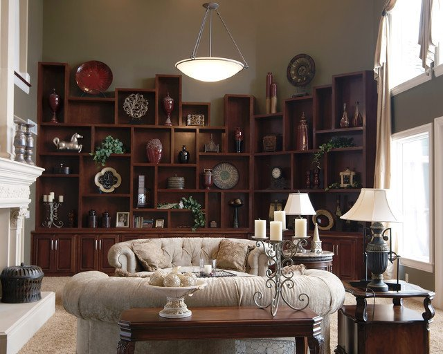 Wall Units Traditional Living Room Built In Wall Unit Traditional Living Room Kansas