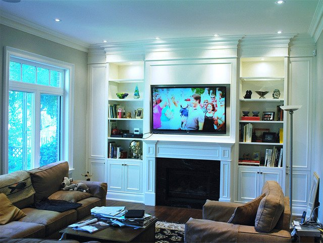 Wall Units Traditional Living Room Built In Wall Unit Traditional Living Room