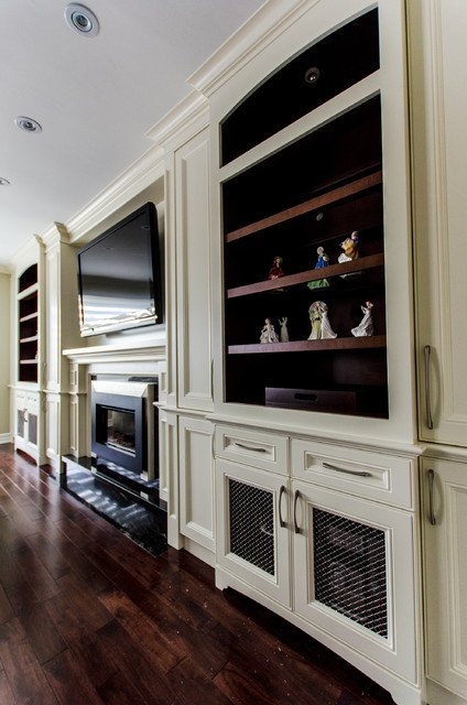 Wall Units Traditional Living Room Fireplace Tv Wall Unit Traditional Living Room
