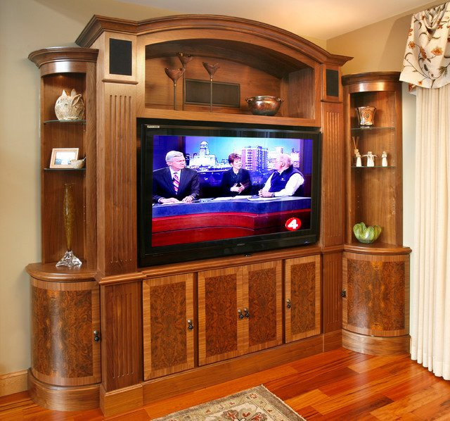 Wall Units Traditional Living Room Tv and Media Wall Unit Traditional Living Room Other