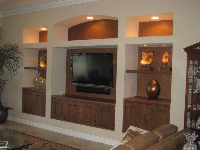 Wall Units Traditional Living Room Wall Unit with Inset Doors Traditional Living Room