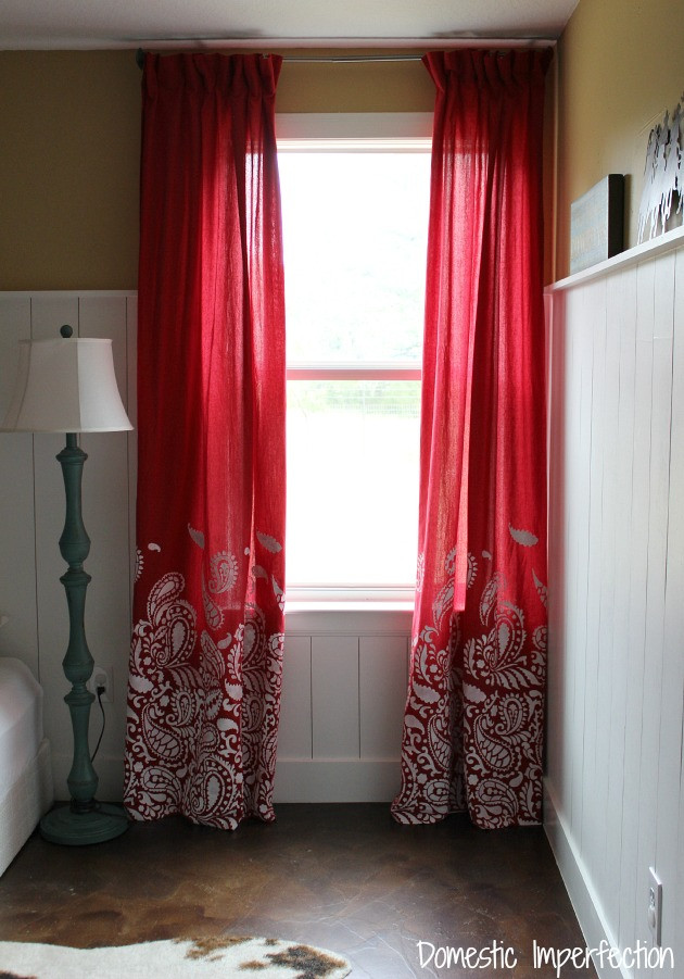 Western Curtains for Bedroom Cowboy Bedding and How to Make Lined Curtains Domestic