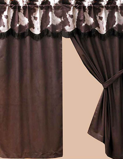 Western Curtains for Bedroom Cowhide Western Drapes