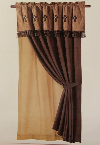 Western Curtains for Bedroom Navaho Cross Window Curtain Western 4w Western