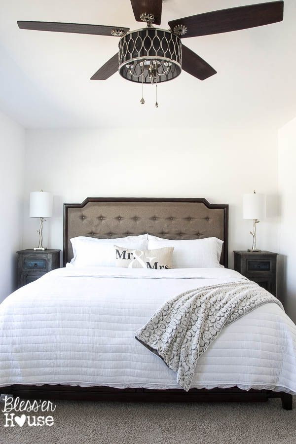 What Size Fan for Bedroom 10 Stylish Non Boring Ceiling Fans