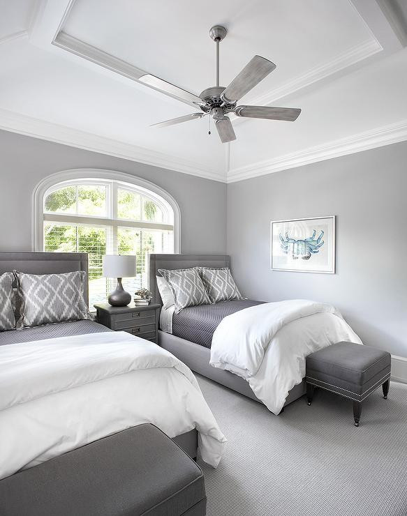What Size Fan for Bedroom Bedroom Tray Ceiling Fan Design Ideas