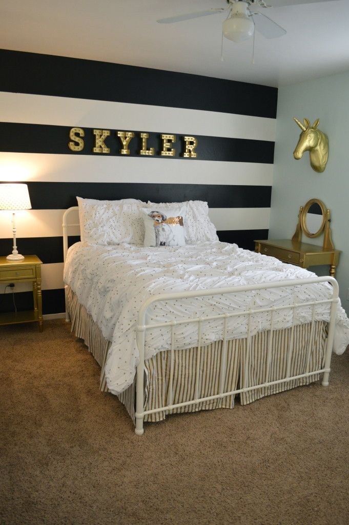 White and Gold Bedroom Ideas Pin by Amy Walton On Skylers Room