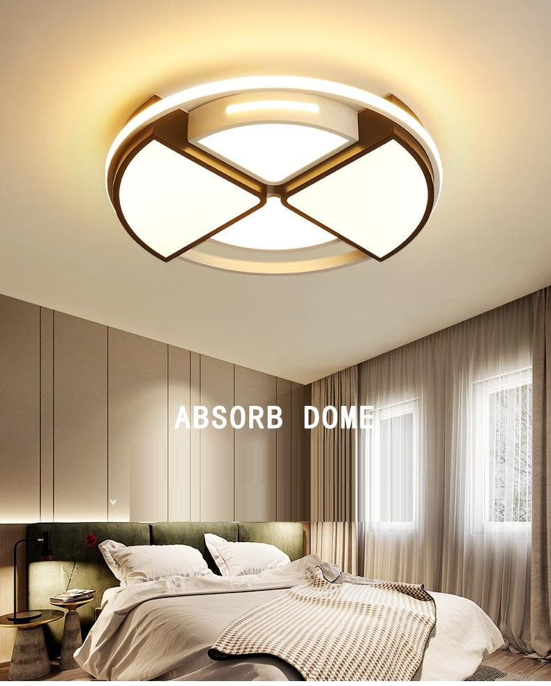 White Light for Bedroom 2020 Fan Shaped Space Stereo Ceiling Lamp nordic Bedroom Living Room Balcony Creative Art Warm Style Led Ceiling Lighting I227 From ishopcauto