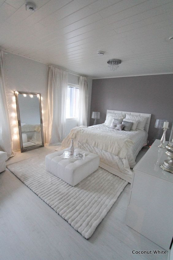 White Light for Bedroom 40 Gray Bedroom Ideas & Decor
