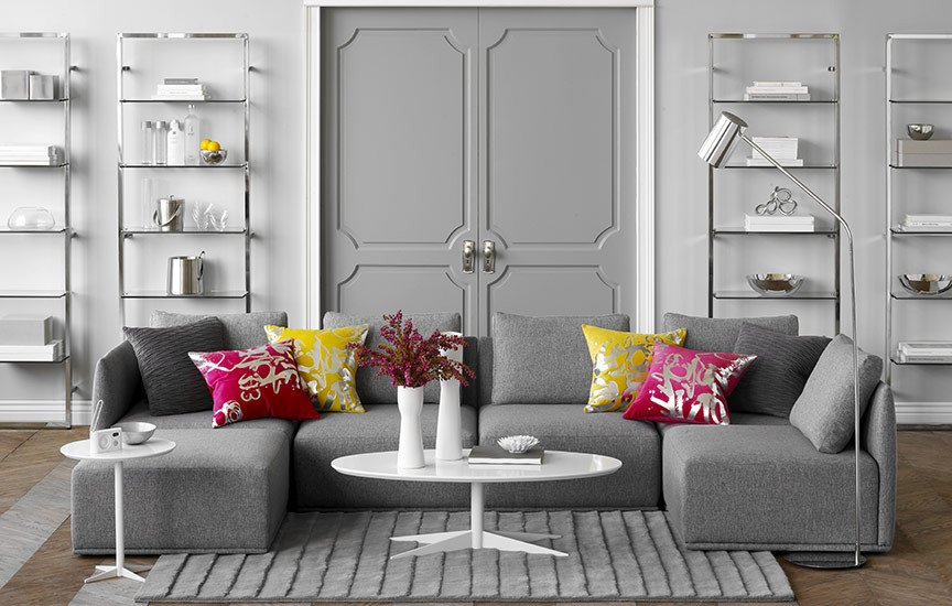 White Living Room Decor Ideas 69 Fabulous Gray Living Room Designs to Inspire You