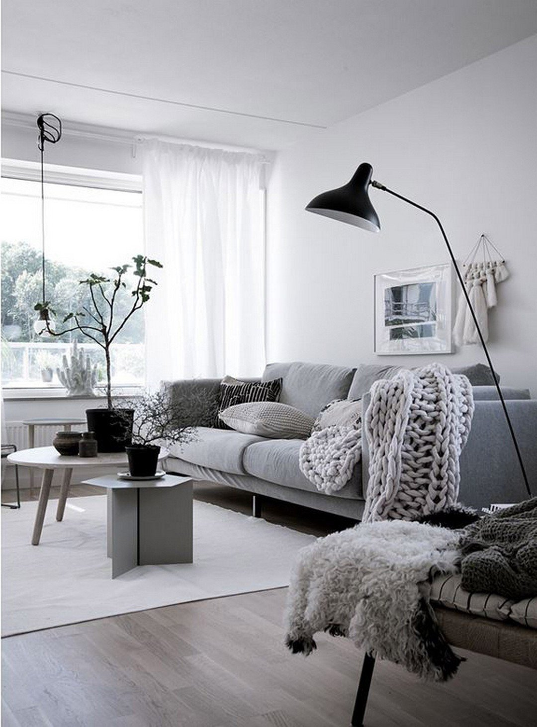 White Living Room Decor Ideas 99 Beautiful White and Grey Living Room Interior