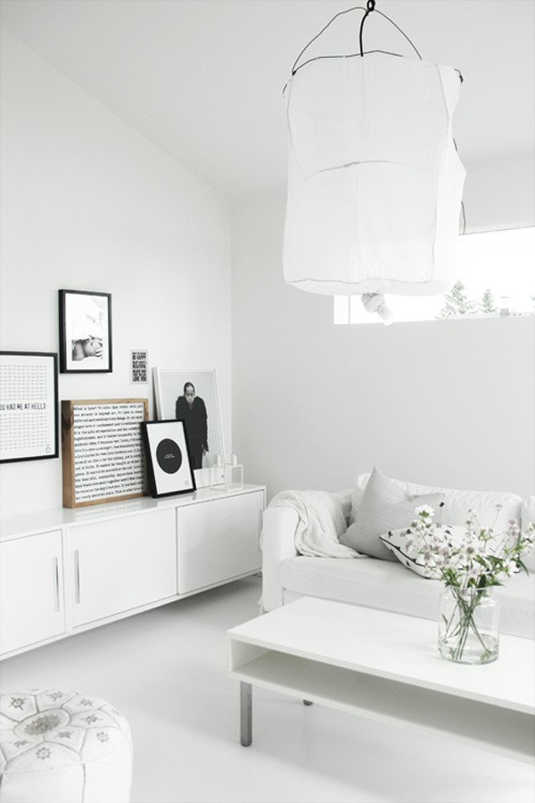 White Living Room Decor Ideas Decorating Ideas 10 All White Rooms Design Milk