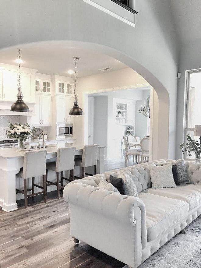 White Living Room Decor Ideas Love This Fresh & Clean White Kitchen Accented with