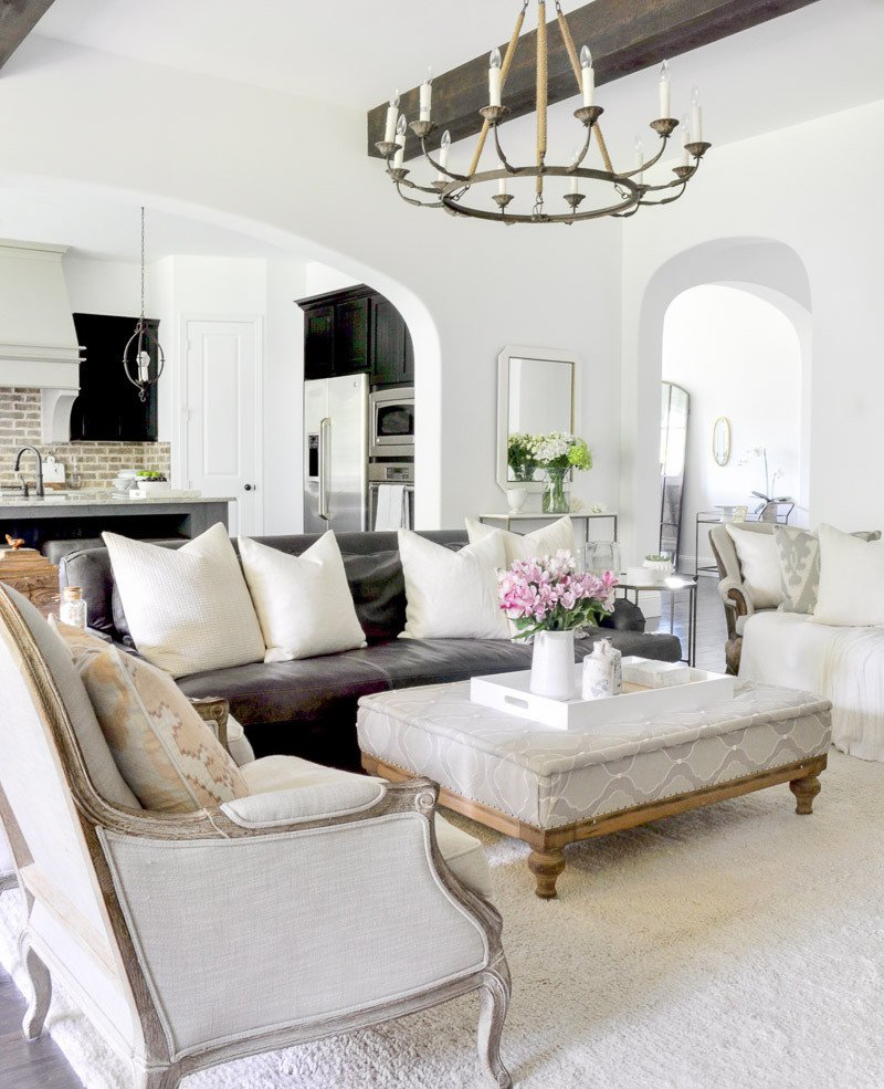 White Paint Guide for Living Room Decorating New White Paint Reveal by Jennifer Of Decor Gold Designs