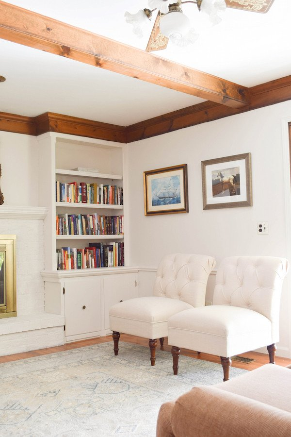 White Paint Guide for Living Room Decorating Rachel Schultz